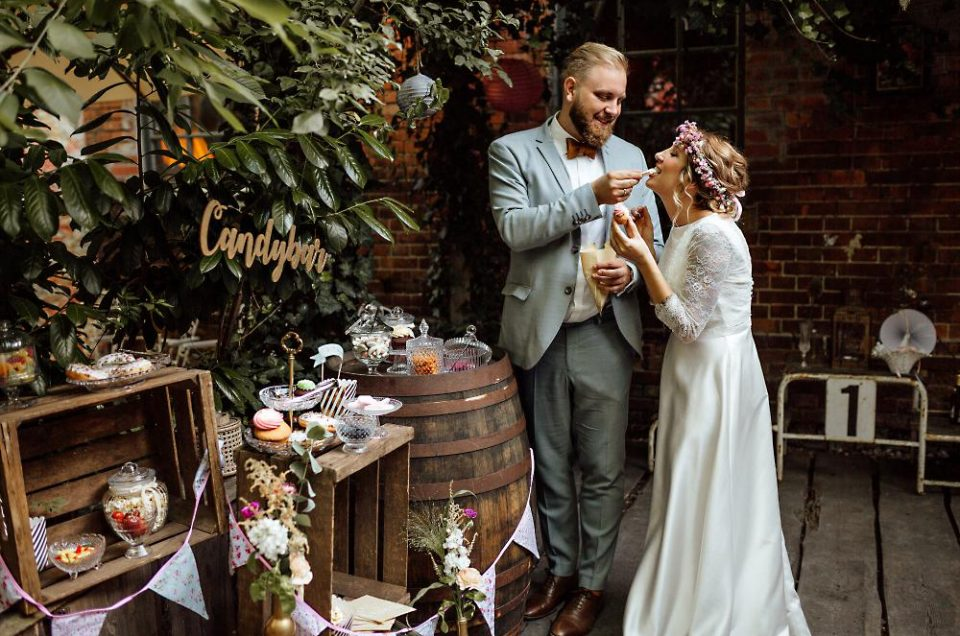 Wonderful Berlin Wedding Story - Old Smithy's dizzle